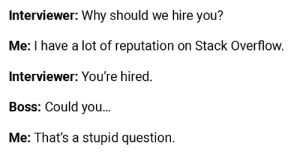 Hiring a Stack Overflow pro.: Hiring a Stack Overflow pro.