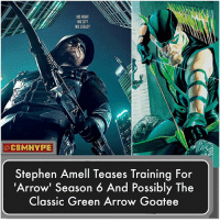 Batman, Memes, and Stephen: HIS FIGHT  HIS CITY  HIS LEGACY  @CBMHYPE  Stephen Amell  Teases Training For  Arrow' Season 6 And Possibly The  Classic Green Arrow Goatee The Iconic Goatee is coming 👏 - What's your thought on this?🤔|🏹 - Comment below and Tag a Friend👇 - cwarrow StephenAmell batmanvsuperman GreenArrow BlackCanary batman dcfilms Deathstroke superman dcunited wonderwoman dcuniverse Prometheus StarCity theflash OliverQuinn Olicity GrantGustin barryallen fact YoungJustice TheCW injustice2 Supergirl Arrow justiceleague JLA DCEU DCExtendedUniverse dcu