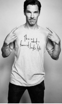 """Feminism, News, and Tumblr: his is  eminis <p><a href=""""http://makingfunofbullshit.tumblr.com/post/119875455146/omgtotoro78-feminism-benedict-cumberbatch"""" class=""""tumblr_blog"""">makingfunofbullshit</a>:</p><blockquote><p><a href=""""http://omgtotoro78.tumblr.com/post/119866663314/feminism-benedict-cumberbatch-f-cking-victory"""" class=""""tumblr_blog"""">omgtotoro78</a>:</p>  <blockquote><p>Feminism + Benedict Cumberbatch = F*CKING VICTORY When I discovered he was a feminist, I was like""""goooooood this man is definitly P.E.R.F.E.C.T!""""</p><p>I have to buy this T-shirt…</p></blockquote>  <p>Good luck finding the shirt, since it was exposed to be made in a <a href=""""http://www.dailymail.co.uk/news/article-2817191/62p-HOUR-s-women-sleeping-16-room-paid-make-Ed-Harriet-s-45-Feminist-Looks-Like-T-shirts.html"""">sweatshop paying women slave wages</a>.</p><p>Ah.</p><p><b>Good ol' feminism.</b></p></blockquote>"""