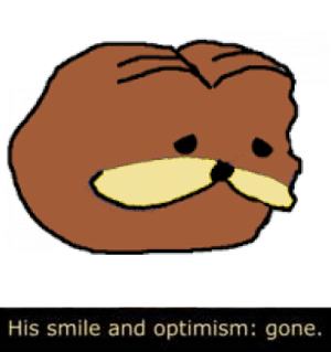 Smile, Optimism, and Gone: His smile and optimism: gone. https://t.co/feBa8hTbsJ