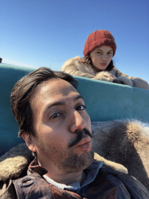 #HisDarkMaterials BEHIND THE SCENES Selfie w @DafneKeen on the trek up North... https://t.co/He6VM6iju7: #HisDarkMaterials BEHIND THE SCENES Selfie w @DafneKeen on the trek up North... https://t.co/He6VM6iju7