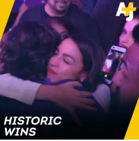 Memes, Watch, and 🤖: HISTORIC  WINS Watch how these historic congresswomen reacted to their wins on election night.