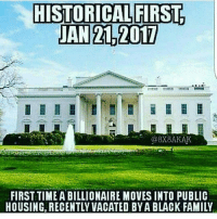 Well here we go, from one corporation to another how bad can it be?? Lol😆: HISTORICAL FIRST  JAN 2L 2017  @8X8AKAK  FIRST TIME ABILLIONAIRE MovES INTO PUBLIC  HOUSING, RECENTLY VACATED BYA BLACK FAMILY Well here we go, from one corporation to another how bad can it be?? Lol😆