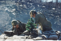 historicaltimes: Two American GIs decorating a Christmas tree at their fighting position, South Vietnam, 1967 via reddit : historicaltimes: Two American GIs decorating a Christmas tree at their fighting position, South Vietnam, 1967 via reddit