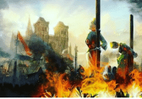 """Church, Funny, and Devil: HISTORY FOCUS: WITCH HUNTS Historians estimate that tens of thousands of people were executed during the witch hunts in Europe over several hundred years (1450-early 1800s). The ability to carry out such a broad, longstanding campaign against the so-called """"agents of the devil"""" was due to the authority, influence, and religious teachings of the Church in society. Mass hysteria during times of war, economic hardship, famine, and especially the widespread panic caused by the bubonic plague, helped secure witches as another scapegoat, alongside other victims of the several Inquisitions that took place. medievaltimes witchhunts witches history church inquisition medievalhistory"""