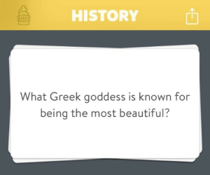 "Advice, Bad, and Beautiful: HISTORY  h  What Greek goddess is known for  being the most beautiful? zabchan:  the-musical-cc:  angelrin89:  true-king-of-monsters:  luxy-lightning:  thestrangedaysofkrei:  knitmeapony:  28weekslaterhater:  knitmeapony:  ravenclawslibrary:  smurflewis:  DONT ASK ME THIS, THIS IS HOW THE TROJAN WAR STARTED, I DONT WANT THIS MAN  Right away, Aphrodite popped into my head. And then I'm just like, ""DAMMIT, DID YOU LEARN NOTHING FROM PARIS? YOU ARE AN EMBARRASSMENT, AND NOW ALL THE TROJANS ARE DEAD. I HOPE YOU'RE HAPPY.""  If you are ever actually in this situation, pro-tip: name Persephone.  Half the goddesses will be too surprised to smite you immediately and while Hades won't do you any favors he may at least high-five you while your on your way down.  Another tip: name Mesperyian. Not only will you shock everyone, including her (since Aphrodite was a jealous ho who burnt half her face off), but you'll win Hades' favour. As his most beloved daughter, anything that praises her will make you a kind human to her, an okay human to him, and a genuinely good person to anyone else.  I heartily endorse this alternative answer.  I love how all of this advice leads to ""please Hades at all costs.""    #because Hades really wasn't that bad No shit. The only real villain that caused so many problems was Zeus' Thunder Cock and that thing has been in Olympus-knows-what.   ZUES'S THUNDER COCK  To be fair, Poseidon was like the greek mythology personification of the phrase 'BITCH, FIGHT ME'   reblogging for BROseidon and FIGHT ME"