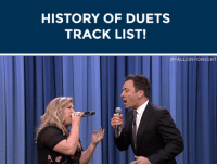 "Cher, Love, and Petty: HISTORY OF DUETS  TRACK LIST!   <h2><b><a href=""https://www.youtube.com/watch?v=Df8MjNmNs-c&amp;list=UU8-Th83bH_thdKZDJCrn88g"" target=""_blank"">HISTORY OF DUETS TRACK LIST</a></b></h2><h2>&ldquo;I Got You Babe&rdquo; - Sonny &amp; Cher<br/>&ldquo;Mockingbird&rdquo; - James Taylor &amp; Carly Simon<br/>&ldquo;Islands In The Stream&rdquo; - Dolly Parton &amp; Kenny Rogers<br/>&ldquo;Don&rsquo;t You Want Me&rdquo; - The Human League<br/>&ldquo;Stop Draggin&rsquo; My Heart Around&rdquo; - Stevie Nicks &amp; Tom Petty<br/>&ldquo;Don&rsquo;t Go Breaking My Heart&rdquo; - Elton John &amp; Kiki Dee<br/>&ldquo;Up Where We Belong&rdquo; - Joe Cocker &amp; Jennifer Warnes<br/>&ldquo;Don&rsquo;t Know Much&rdquo; - Aaron Neville &amp; Linda Ronstadt<br/>&ldquo;Opposites Attract&rdquo; - Paula Abdul &amp; MC Skat Kat<br/>&ldquo;Just Give Me A Reason&rdquo; - P!nk &amp; Nate Ruess<br/>&ldquo;Endless Love&rdquo; - Lionel Richie &amp; Diana Ross</h2><figure class=""tmblr-embed"" data-provider=""youtube"" data-orig-width=""540"" data-orig-height=""304"" data-url=""https%3A%2F%2Fwww.youtube.com%2Fwatch%3Fv%3DDf8MjNmNs-c%26list%3DUU8-Th83bH_thdKZDJCrn88g""><iframe width=""500"" height=""281"" id=""youtube_iframe"" src=""https://www.youtube.com/embed/Df8MjNmNs-c?feature=oembed&amp;enablejsapi=1&amp;origin=https://safe.txmblr.com&amp;wmode=opaque"" frameborder=""0"" allowfullscreen=""""></iframe></figure>"