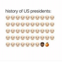 history of US presidents: Facts or Nah ? 😭 blackbusinesses lettertomyppl problack trump obama cheetos orange uspresident