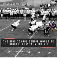 """Meet Brave Williams, a 7'1"""" and 400-pound two-sport athlete, who is going unnoticed without any college offers: HIT LAKE SHORE H  THE HIGH SCHOOL SENIOR WOULD BE  THE BIGGEST PLAYER IN THE NFL Meet Brave Williams, a 7'1"""" and 400-pound two-sport athlete, who is going unnoticed without any college offers"""