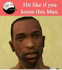 Memes, 🤖, and Man: Hit like if you  know this Man belikebro