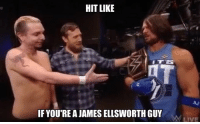 Confused, Friends, and Memes: HIT LIKE  IF YOU REA JAMES ELLSWORTH GUY  MM LIVE AN OPEN LETTER TO DANIEL BRYAN  Dear Daniel,  I am a James Ellsworth guy. But James Ellsworth is a #Raw guy - and now YOU have messed with the wrong guy! By raiding Monday Night Raw for Superstars like James Ellsworth, you are setting a dangerous precedent, my friend. More seriously, you risk confusing the #WWEUniverse, especially the little Ellsters out there, who have been waiting for me to sign #EllmoreVsStrohman2 for an upcoming #Raw PPV. Shame on you, Daniel...shame on you!  There is, however a way out of this situation. How about if you and Mauro Ranallo come to Raw on Monday to call our #Cruiserweight matches on Raw? We'll call it even and hope the Little Ellsters out there understand.  Sincerely,  Mick Foley