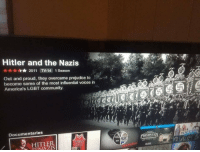"""Community, Gif, and Lgbt: Hitler and the Nazis  r** 2011 TV-14