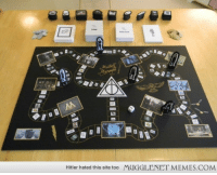 "Harry Potter, Memes, and Game: Hitler hated this site too  MUGGLENET MEMES.COM <p>My Harry Potter Trivia Board Game &lsquo;Mischief Managed&quot; <a href=""http://ift.tt/1ANXtgU"">http://ift.tt/1ANXtgU</a></p>"