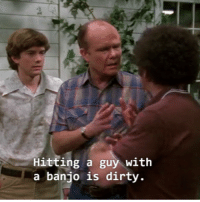 Memes, Dirty, and 🤖: Hitting a guy with  a banjo is dirty. I tried so hard and got so far, but in the end it doesn't even matter