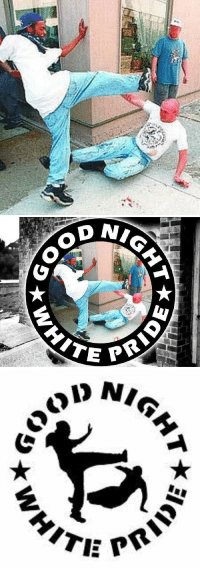 "<p><a class=""tumblr_blog"" href=""http://antifainternational.tumblr.com/post/113107997559"">antifainternational</a>:</p> <blockquote> <p><b> THE STORY BEHIND THE ""GOOD NIGHT WHITE PRIDE"" IMAGE:</b><br/><br/>May 9, 1998: The KKK, decide to hold a rally in Ann Arbor, MIchigan despite having their asses handed to them there two years earlier.  The Ann Arbor city council obliges them, <a href=""http://www.umich.edu/~nwroc/flyers/flyer-1.htm"">spending $137,000 of taxpayer money </a>to accommodate their hatefest in the middle of town.<br/><br/><a href=""http://antiracistaction.org/"">Anti-Racist Action</a>, the Revolutionary Workers' League, and the National Women's Rights Organizing Committee all mobilize to confront the KKKlowns.  <br/><br/>This photo of <b><a href=""http://antifainternational.tumblr.com/post/149375786559/good-night-white-pride-an-interview-with-harlon"">Harlon Jones</a></b>, an Ann Arbor anti-racist showing a racist scumbag some Michigan hospitality, is legendary and is where the <b>Good Night White Pride</b> logo comes from.  <br/><br/>In all, five people were injured during the ruckus before the Klan were shut down and run out of town.  In the weeks that followed, <a href=""http://www.umich.edu/~nwroc/flyers/flyer-1.htm"">Ann Arbor city officials and police launched an unprecedented manhunt to arrest 39 <i>anti-racists</i> for the ""crime"" of opposing a racist terrorist organization operating publicly in their community</a>.  In the end, twenty anti-racists faced charges; sixteen of them had their charges dropped and just one was convicted, for allegedly throwing a rock that hit a cop.<br/><br/>The lessons of Ann Arbor on May 9, 1998 have repeated themselves in the years since: people standing together can take their streets back from racist scum; city officials and police are happy to spend tax dollars protecting racists and persecuting anti-racists; and most importantly, <b>fighting hate is not a crime</b>!<br/><br/><b>UPDATE:</b> Read <b><a href=""http://antifainternational.tumblr.com/post/149375786559/good-night-white-pride-an-interview-with-harlon"">our interview with Harlon Jones here!</a></b><br/><br/><br/></p> </blockquote>: HITVE <p><a class=""tumblr_blog"" href=""http://antifainternational.tumblr.com/post/113107997559"">antifainternational</a>:</p> <blockquote> <p><b> THE STORY BEHIND THE ""GOOD NIGHT WHITE PRIDE"" IMAGE:</b><br/><br/>May 9, 1998: The KKK, decide to hold a rally in Ann Arbor, MIchigan despite having their asses handed to them there two years earlier.  The Ann Arbor city council obliges them, <a href=""http://www.umich.edu/~nwroc/flyers/flyer-1.htm"">spending $137,000 of taxpayer money </a>to accommodate their hatefest in the middle of town.<br/><br/><a href=""http://antiracistaction.org/"">Anti-Racist Action</a>, the Revolutionary Workers' League, and the National Women's Rights Organizing Committee all mobilize to confront the KKKlowns.  <br/><br/>This photo of <b><a href=""http://antifainternational.tumblr.com/post/149375786559/good-night-white-pride-an-interview-with-harlon"">Harlon Jones</a></b>, an Ann Arbor anti-racist showing a racist scumbag some Michigan hospitality, is legendary and is where the <b>Good Night White Pride</b> logo comes from.  <br/><br/>In all, five people were injured during the ruckus before the Klan were shut down and run out of town.  In the weeks that followed, <a href=""http://www.umich.edu/~nwroc/flyers/flyer-1.htm"">Ann Arbor city officials and police launched an unprecedented manhunt to arrest 39 <i>anti-racists</i> for the ""crime"" of opposing a racist terrorist organization operating publicly in their community</a>.  In the end, twenty anti-racists faced charges; sixteen of them had their charges dropped and just one was convicted, for allegedly throwing a rock that hit a cop.<br/><br/>The lessons of Ann Arbor on May 9, 1998 have repeated themselves in the years since: people standing together can take their streets back from racist scum; city officials and police are happy to spend tax dollars protecting racists and persecuting anti-racists; and most importantly, <b>fighting hate is not a crime</b>!<br/><br/><b>UPDATE:</b> Read <b><a href=""http://antifainternational.tumblr.com/post/149375786559/good-night-white-pride-an-interview-with-harlon"">our interview with Harlon Jones here!</a></b><br/><br/><br/></p> </blockquote>"
