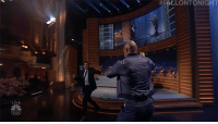 "<p><a href=""https://www.nbc.com/the-tonight-show/video/justin-timberlake-dwayne-johnson-this-is-us-cast/3661002"" target=""_blank"">The Rock really knows how to make an entrance! </a></p>: HLLONTONIGHT  LIVE <p><a href=""https://www.nbc.com/the-tonight-show/video/justin-timberlake-dwayne-johnson-this-is-us-cast/3661002"" target=""_blank"">The Rock really knows how to make an entrance! </a></p>"