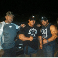 This FlashBack with the Legend 6x @mrolympiallc @thedorianyates and my good friend Arnold Classic winner @thebranchwarren. This was on a Pig hunt around 3-4am in the middle of Texas.. somewhere. Lol Had a blast with these guys- All I know is Texas has some crazy beasts that come out at night, and I'm not talking about Branch. Looking forward to doing this again. TexasHunt BeastsUnleashed PigHunt FlexLewis DorianYates BranchWarren: Ho  GYM This FlashBack with the Legend 6x @mrolympiallc @thedorianyates and my good friend Arnold Classic winner @thebranchwarren. This was on a Pig hunt around 3-4am in the middle of Texas.. somewhere. Lol Had a blast with these guys- All I know is Texas has some crazy beasts that come out at night, and I'm not talking about Branch. Looking forward to doing this again. TexasHunt BeastsUnleashed PigHunt FlexLewis DorianYates BranchWarren