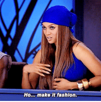 incomparablyme:Most modeling is kind of acting like a ho but making it fashion.: Ho... make it fashion. incomparablyme:Most modeling is kind of acting like a ho but making it fashion.