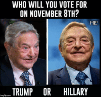 Memes, 🤖, and Milo: Ho WHO WILL YOU VOTE FOR  ON NOVEMBER BTH?  MILO  TRUMP OR HILLARY  imgflip.com