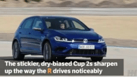 The @volkswagen Golf R Performance Pack looks like quite a machine!: HOB G013  The stickier, dry-biased cup 2s sharpen  up the way the Rdrives noticeably The @volkswagen Golf R Performance Pack looks like quite a machine!