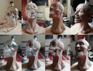 hobbit-queen: sixpenceee:  A forensic facial reconstruction from a crystal vodka skull.   Freaky : hobbit-queen: sixpenceee:  A forensic facial reconstruction from a crystal vodka skull.   Freaky