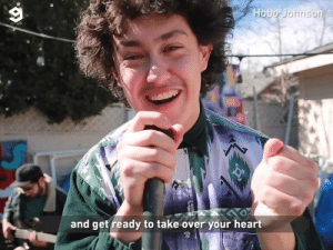 Dank, Love, and Heart: Hobo Johnson  and get ready to take over your heart When you love scones  By Hobo Johnson