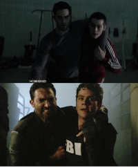 Memes, 🤖, and Derek: HOBRIENED + season 2-season 6 :') - stiles always helping derek ♥️ - credit: @hobriened