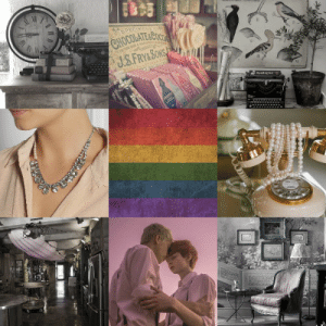Lgbt, Target, and Tumblr: HOCOLATE&COO  ang lgbt-aesthetics:Gay MLM + Pretty Old Fashioned Home Decor Aesthetic~Requested by @cosmo-lawlor~