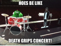 Be Like, Hoes, and Life: HOES BE LIKE  DEATH GRIPS CONCERT!
