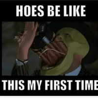 Be Like, Hoes, and Time: HOES BE LIKE  THIS MY FIRST TIME