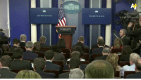 Memes, 🤖, and The White House: Hoess  THE WHITE Sean Spicer briefs the public on recent happenings in the White House, including the immigration ban.
