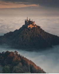 Germany, Castle, and Hohenzollern: Hohenzollern castle In Germany