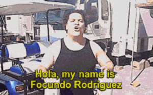 Milk, Rock, and Name: Hola, my name is  FOCundo Rodriquez Milk makes your body Rock hard.