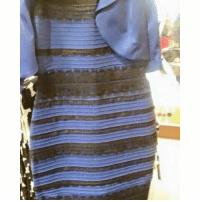 Hold up yall, Before 2015 ends, what color is the dress? 😂