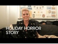 """<p><b>WEB EXCLUSIVE:</b></p><p><a href=""""https://www.youtube.com/watch?v=OLeBB8UpJ6Y"""" target=""""_blank"""">P!nk shares the story of a Thanksgiving that started with tequila and ended with a trip to the ER&hellip;</a></p>: HOLIDAY HORROR  STORY <p><b>WEB EXCLUSIVE:</b></p><p><a href=""""https://www.youtube.com/watch?v=OLeBB8UpJ6Y"""" target=""""_blank"""">P!nk shares the story of a Thanksgiving that started with tequila and ended with a trip to the ER&hellip;</a></p>"""