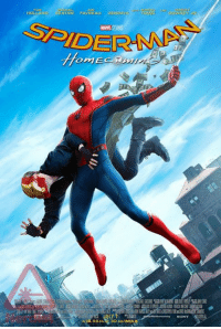 Love, Memes, and Sony: HOLLAND KEATON FAVREAU ZENDAYE  TOME  MARVEL  SONY This is a collection of all the official promo posters and concept art for the movie Spider-Man: Homecoming.  (Nerds Love Art)