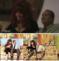 Family, Modern Family, and Als: Holli!rood   REPOR Modern Family Recreates Al & Peggy Bundy