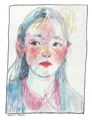 holly-warbs:evening sketch 24/04/19.: HOLLY WARBS holly-warbs:evening sketch 24/04/19.