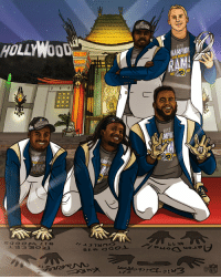 Memes, Los Angeles, and Superbowl: HOLLYWOOD  NFC  HAMPION  LOS ANGELES The @RamsNFL cement their place in @SuperBowl LIII! #LARams #NFLPlayoffs  @OfficialNFLShop https://t.co/LT9vlGO5uV