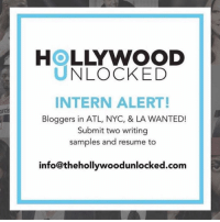 HOLLYWOOD  UNLOCKED  INTERN ALERT!  Bloggers in ATL, NYO, & LA WANTED!  Submit two writing  samples and resume to  info@thehollywoodunlocked.com 💥INTERN ALERT💥 HollywoodUnlocked is looking for passionate and highly motivated people! Writers, specifically in the New York area email resume and writing sample to info@thehollywoodunlocked.com! 💥TAG ANYONE YOU THINK WOULD BE INTERESTED AND A GOOD FIT💥