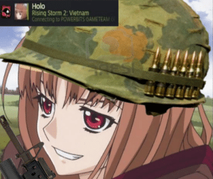 Anime, Respect, and Vietnam: Holo  Rising Storm 2: Vietnam  Connecting to POWERBITS GAMETEAM Respect your veterans