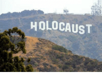 RT @theplugformemes: why do they keep changing the hollywood sign: HOLOCAUST RT @theplugformemes: why do they keep changing the hollywood sign