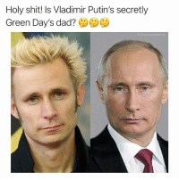 @throwbackmachine is the best page I've ever seen: Holy shit! Is Vladimir Putin's secretly  Green Day's dad? ()()() @throwbackmachine is the best page I've ever seen