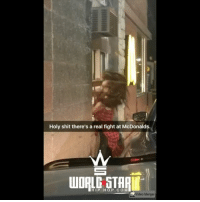 They tried to charge her extra for sauce 😳🍟 WSHH @worldstar (via @kylewatkins12): Holy shit there's a real fight at McDonalds  STAI  HIP HOP.COM  Video Merger They tried to charge her extra for sauce 😳🍟 WSHH @worldstar (via @kylewatkins12)