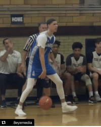 Memes, School, and Game: HOME  8eyemedia LaMelo Ball put up 20 PTS (7-16 FG, 2-9 3PT, 4-9 FT), 13 AST, 5 REB in his first game back in High School.   🎥 8EyeMedia/IG https://t.co/Mn2q27YRIG