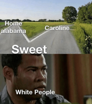 Don't make me choose: Home  alabama  Caroline  Sweet  White People Don't make me choose