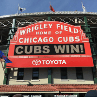 Cubs win 7-5! @addison_russell and @kschwarb12 go back to back as the Cubs end the homestand on a good note. @miguelmontero26 and @benzobrist18 also added HRs. cubs mlb baseball letsgo flythew thatscub cubswin: HOME OF  CHICAGO CUBS  CUBS WIN!  TOYOTA Cubs win 7-5! @addison_russell and @kschwarb12 go back to back as the Cubs end the homestand on a good note. @miguelmontero26 and @benzobrist18 also added HRs. cubs mlb baseball letsgo flythew thatscub cubswin