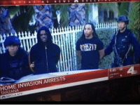 According to NBC LA, ChiefKeef and Tadoe were arrested today for a home invasion and assault after allegedly jumping his former music producer, Ramsay Tha Great: HOME R E A K I N G  N E W S  INVASION ARRESTS  TARZANA  5:45 58 According to NBC LA, ChiefKeef and Tadoe were arrested today for a home invasion and assault after allegedly jumping his former music producer, Ramsay Tha Great