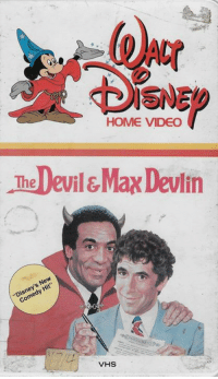 Dank, Videos, and Devil: HOME VIDEO  The Devil&Max Devlin  New  Comedy VHS