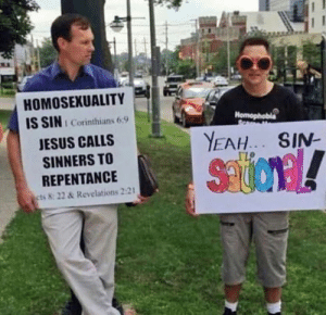 Jesus, Memes, and Yeah: HOMOSEXUALITY  IS SIN  t Corinthians 6:9  JESUS CALLS  SINNERS TO  REPENTANCE  cts 8: 22 & Revelations 2:21  YEAH. SIN-